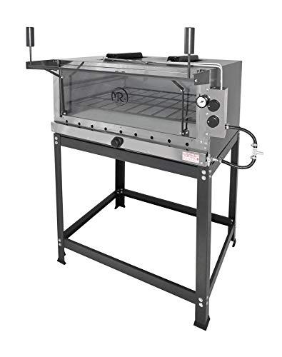 Forno Pizza Industrial Refratária Infravermelho A Gás 80x60 Mr