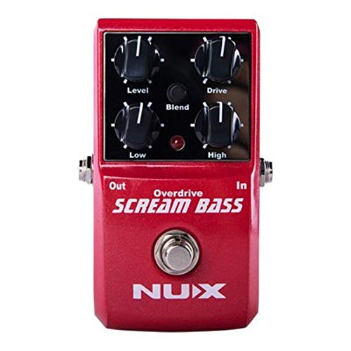STOMPBOX Nux Scream Bass Analog Overdrive Bass Effekte True Bypass