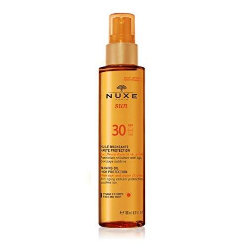 NUXE SUN huile bronzante haute protection SPF30 spray 150 ml