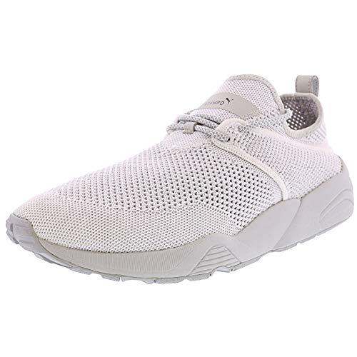 PUMA X Stampd Trinomic Woven Mens White Textile Athletic, High Rise, Size 9.5