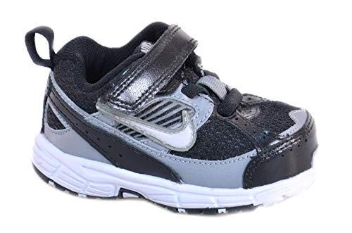 Nike Dart 8 TD Scarpe Bambino Nere Pelle Tela 395827 Nero 21 EU