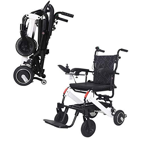 Drive Rolstoelen Lightweight Standaard Model - Personal Mobility Aid - Light Weight Folding Elektrische rolstoel (Color : 6A)