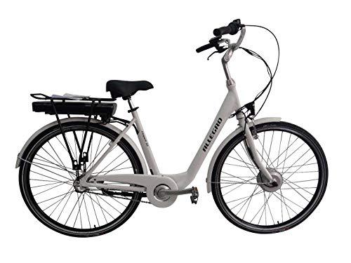 Allegro Damen Elegant 02 E-Bike, Weiß, 28 Zoll