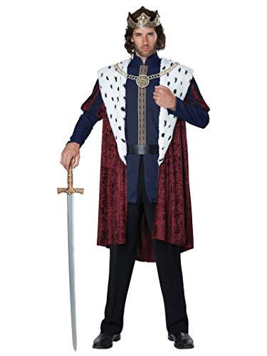 California Costumes Men's Royal Storybook King Costume, multi, Large/XLarge