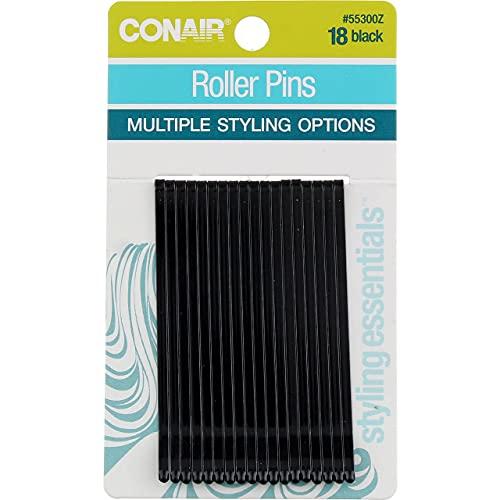 Conair Roller Pins, Black, 1.6 Oz