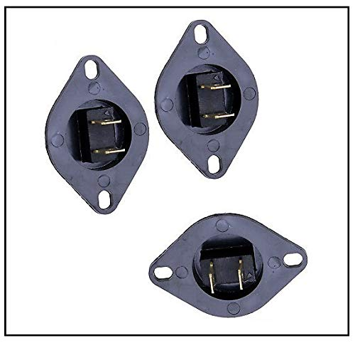 Price comparison product image NEW (3 Pack) WP35001191 DC32-00007A Dryer Thermistor Fits S fits 2068429,  PS4204984,  B001E8B71S. WP35001191 (AP6008688) 35001191