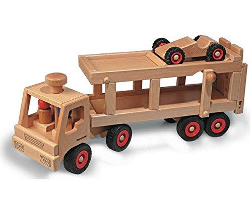 Fagus 14801049 Spielzeug-Fahrzeuge Autotransporter 10.49