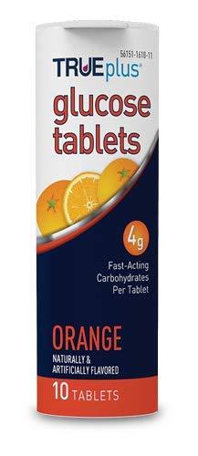 buy  TRUEplus® Glucose Tablets, Orange Flavor – ... Blood Test Strips