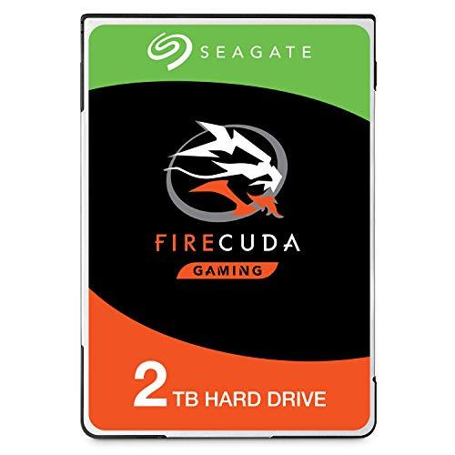 Seagate FireCuda 2 TB interne Hybrid Festplatte (6,4 cm (2,5 Zoll) 64 MB Cache, Sata 6 Gb/s) Modellnr.: ST2000LX001