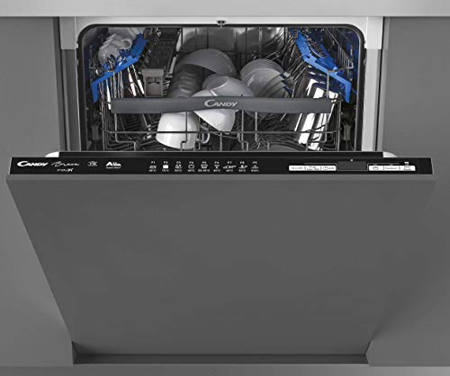 CANDY CDIN 2D620PB-80E Fully Integrated WIFI Dishwasher, 16 Place settings, Black trim