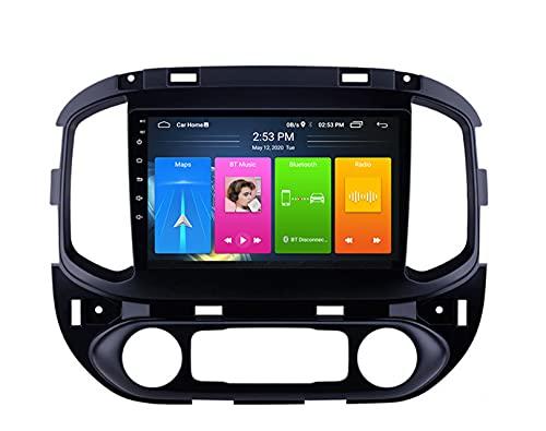 ADMLZQQ Doble DIN Android 10.0 Coche EstéReo Radio De AutomóVil para Chevrolet Colorado2015-2017 con GPS NavegacióN TáCtil Pantalla Reproductor Multimedia Soporte WiFi/SWC + CáMara Trasera,WiFi 2+32