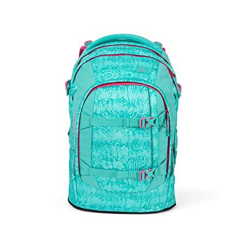 Satch pack Schulrucksack - ergonomisch, 30 Liter, Organisationstalent - Aloha Mint - Mint