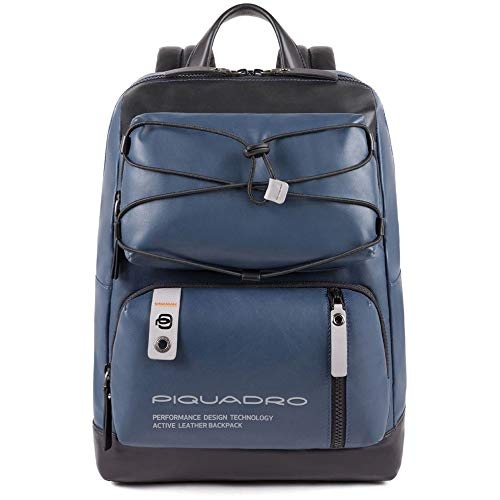 Piquadro Modus Special Pilotenkoffer 42 Centimeters Blau Blu