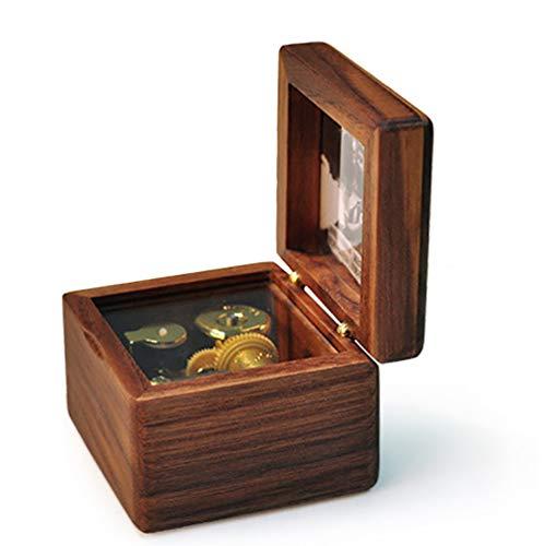 Muziek dozen, Houten Photo Creative Novelty geschenken te sturen mannelijke en vrouwelijke vrienden Houten Music Box