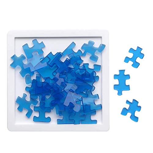 ASY Puzzle Level 10 29/100 Stück Super schwieriger Puzzle Brain Challenge Intelligenz Spielzeug Transparentes Kunststoffprofil für Kinder Erwachsene und Jugendliche,29