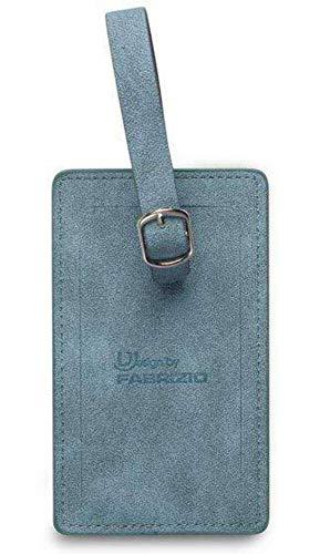 Fabrizio étiquettes Valise 12 x 7 cm Bleu 2 pièces