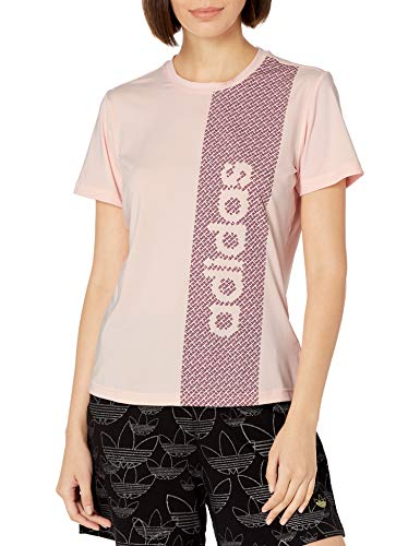adidas Design 2 Move Camiseta, Tinte Rosa/Power Berry, Extra-Small para Mujer