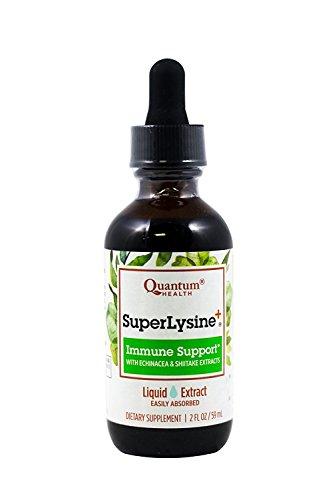 Quantum Amino Acid Super Lysine Plus Liquid Extract, 2 Ounce - 3 per...