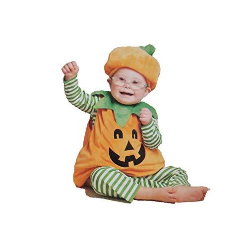 Lil Pumpkin Infant Costume Vest with hat, Shirt & Leggings 0-6 Months Orange