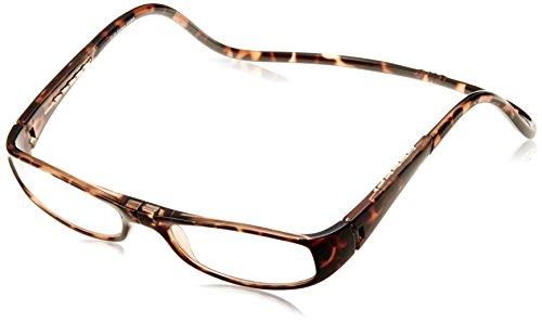 [クリックリーダー] 老眼鏡 CliC Euro メンズ ブラウン 日本 +3.00-(日本サイズM相当)