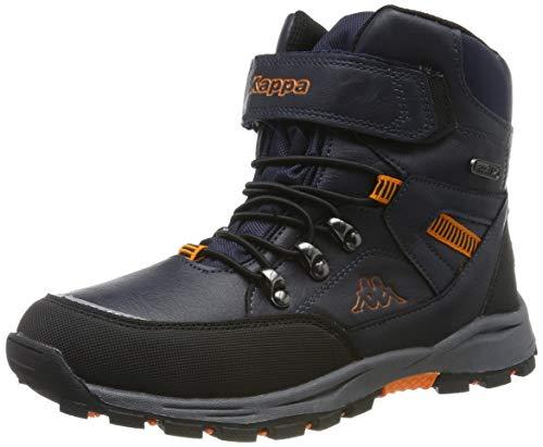 Kappa Jungen Unisex Kinder SKUBB TEX Kids Klassische Stiefel, 6744 Navy/orange, 31 EU