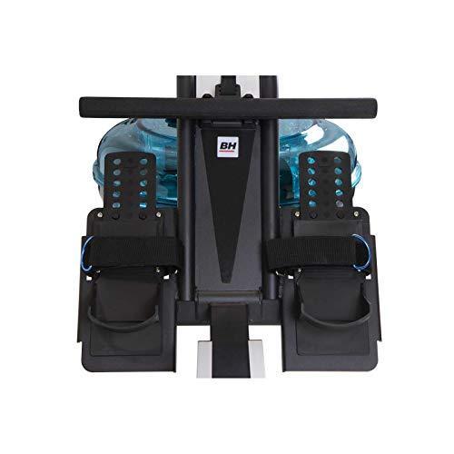 BH Fitness Cardiff R370 – Wasserrudergerät – Rudergerät – 6 Wiederstandsstufen – Einstellbare Pedale – LCD Monitor - 4