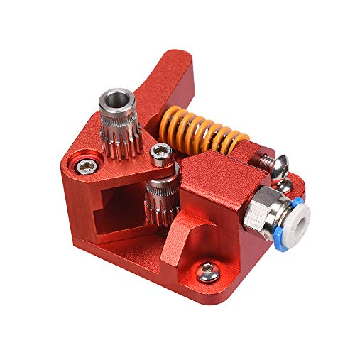 SNOWINSPRING CR10S PRO Dual Gear Extruder Upgrade MK8 Extruder for Ender 3 CR10S PRO 1.75mm 3D Printer Parts Double Pulley Extruder
