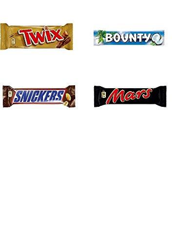 120 große Riegel Mars Snickers Bounty Twix Orginal 6,2kg Schokoriegel