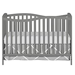 Cribs converts into a toddler bed, a daybed and full size bed. Toddler Guardrail, Stabilizer and Full Size Rail each sold separately. Bed frame and Mattress not included Tested for lead and other toxic elements to meet or exceed government and ASTM s...