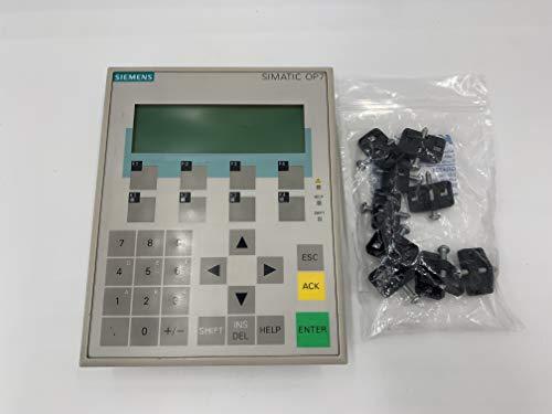 Siemens SIMATIC S5 505 S7 M7 6AV3607-1JC30-0AX1 Operator Panel OP7 DP12 LC Display 6AV3 607-1JC30-0AX1 4-zeilig 6AV36071JC300AX1 HMI 20 Zeichen pro Zeile 4025515052029
