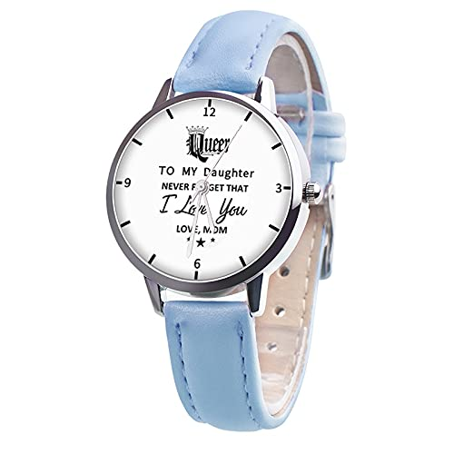 Reloj Niño Yuan Ou Reloj para niños para niño, Reloj de Pulsera para niño y niña, Relojes de Cuarzo para niños, Accesorios para Regalo para Hijo, Hija, Colorido, Azul