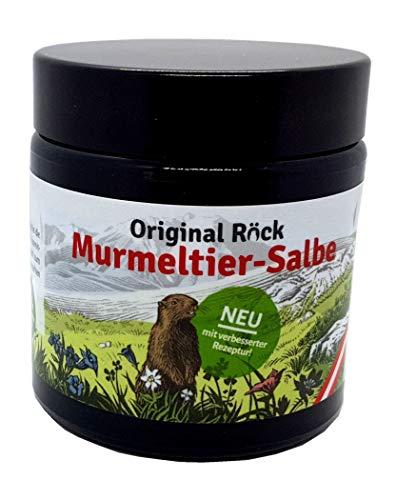 Original Röck Murmeltiersalbe - seit Jahrhunderten bewährtes Hausmittel zum Auftragen auf die Haut. Jetzt neu mit stark verbesserter Rezeptur.