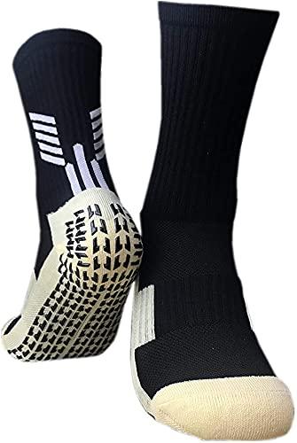 VCTINA Calcetines deportivos antideslizantes para hombres, mujeres, transpirables, unisex, atléticos, de fútbol,...