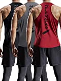 Neleus Men's 3 Pack Mesh Workout Muscle Tank...