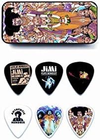Dunlop: Jimi Hendrix Collector Series Pick Tin - Bold As Love (12 Medium Picks). para Guitarra