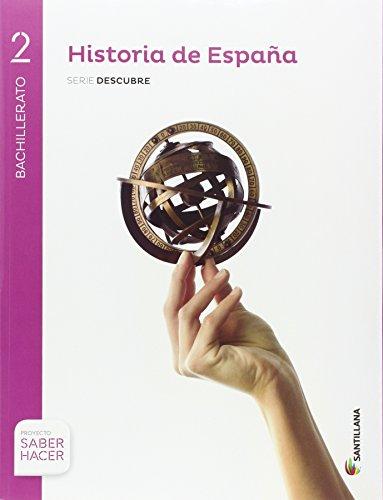 HISTORIA ESPAÑA EXTREMADURA SERIE DESCUBRE 2 BTO SABER HACER - 9788414101834