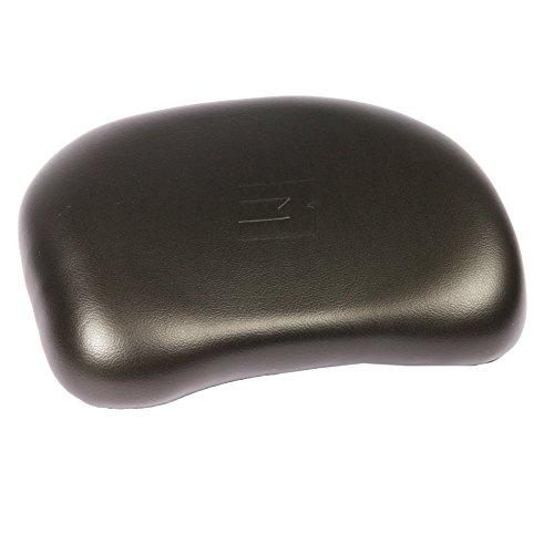 MyTech - Schienalino rivestito in pelle nera per Bauletto moto - compatibile per Tutti i Top case (UNIVERSALE)