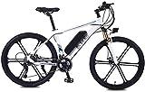 Bicicletas Eléctricas, 26 pulgadas bicicleta eléctrica de aleación de aluminio for adultos bicicleta de montaña 36v / 8AH de litio-ion de 27 350w velocidad del motor de la carga máxima de 150 kg Veloc