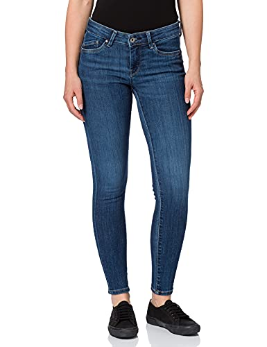 Pepe Jeans Rachel Skirt Belt Falda, Azul (000denim), L para Mujer