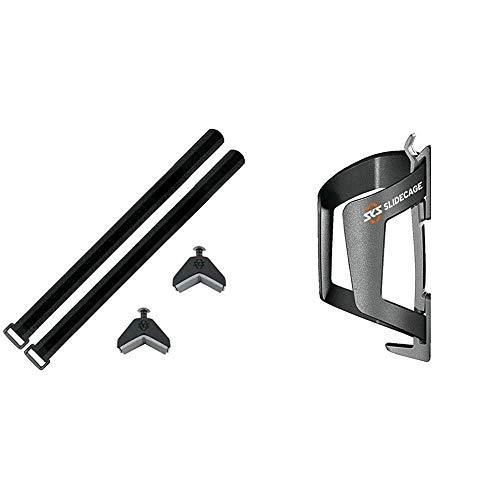 SKS Adapter Anywhere schwarz, 10 x 10 x 25 cm & Germany Flaschenhalter SLIDECAGE