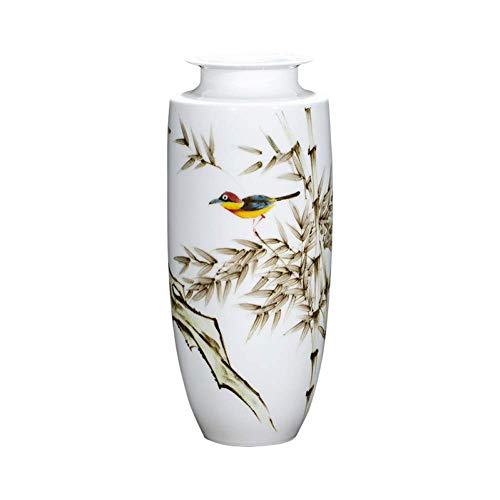 Simple and Creative Ceramics Ceramic Vase Masters Hand Painted Underglaze Decoration Living Room Tv Cabinet Flower Vase Decoration Porcelain Vase, lsxysp