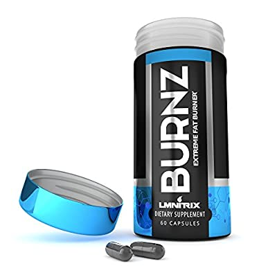 Burnz ? Thermogenic Fat Burner ? Powerful Weight Loss Aid, Stronger Than Most Diet Pills ? 60 Capsules