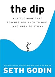 Cover for Seth Godin's The Dip Book