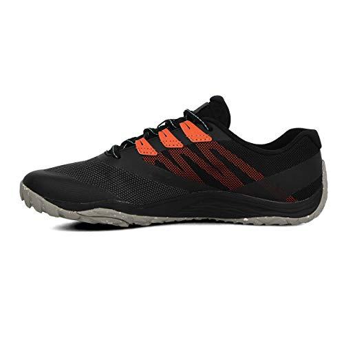 Merrell Trail Glove 5, Zapatillas Deportivas Mujer, Black/Goldfish, 38 EU