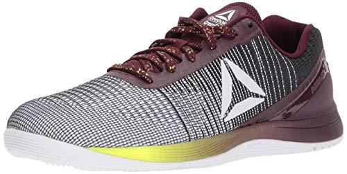 Reebok Crossfit Nano 7.0 - Zapatillas deportivas de cross para hombre, Blanco (Neon-blanco/negro/Solar), 41 EU