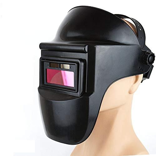 NZQLJT Pantalla soldar automatica, Soldadores soldadores Transpirable soldar Las Tapas máscaras de Soldadura, Gorros Ojos Máscaras de Soldadura Transparentes de protección Especial