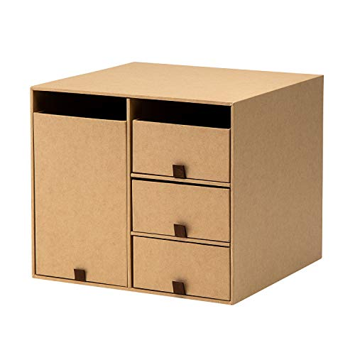プラス 収納ボックス リビングポストIIY4S S クラフト LP-201Y4-S / 85651