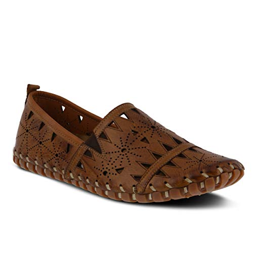 Spring Step Women#039s Fusaro Leather Loafer Brown