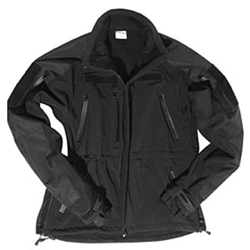 Mil-Tec SOFTSHELLJACKET Plus Black