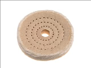 Piranha Cotton Buffing Wheel For Metal And Marble, 75mm Depth, 13mm Bore Size